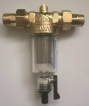 """Vízszűrő BWT Protector mini lemosható betétes szűrő 3/4"""" CR"""