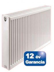 ERFER radiátor 400/1200 22K (DK) acéllemez lapradiátor + tartó - szett (400x1200)